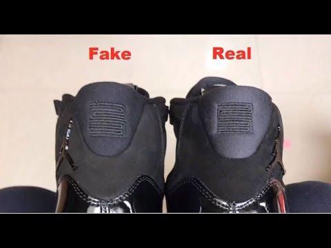f9d8decaeae761 Jordan 11 Prom Night Cap and Gown REAL vs FAKE