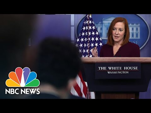 Live: White House Holds Press Briefing: April 13 | NBC News