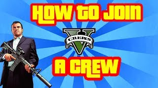 GTA 5 How To Join a Crew Online