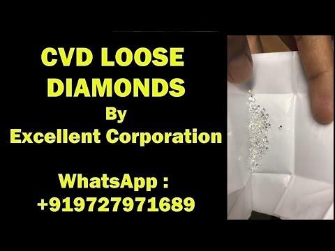 Lab Grown Diamond 2.70mm To 3.20mm DEF VVS VS Round Brilliant Cut HPHT