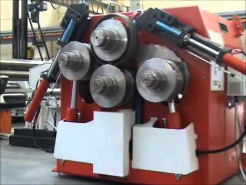Profile Bending | Section Rolls | Hydraulic Machine | MC4P | 4 Roll