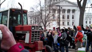 Tractorcade At The Capitol
