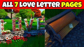 All 7 Love Letter Pages Locations in the Fortnite Creative Valentine's Hub