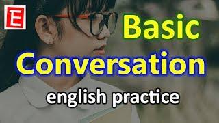 Basic English Conversation Practice | English Listening and Speaking Practice | English 4K