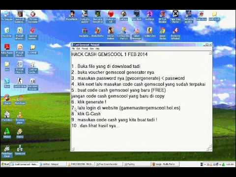 Cheat G-cash Gemscool 20 Maret 2014 on YOUZEEK com
