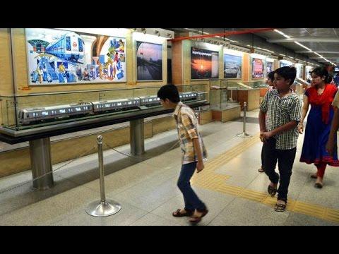 Delhi Metro Promotes Art & Culture