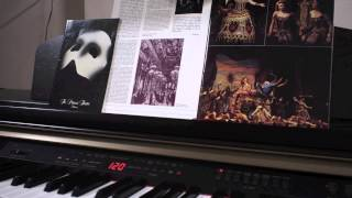 """""""Think Of Me"""" from Phantom Of The Opera - solo piano (HD)"""