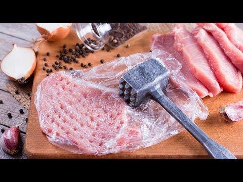 Hay que martillar la carne para preparar esta maravilla española
