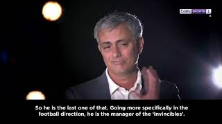 Mourinho believes there will never be another Wenger