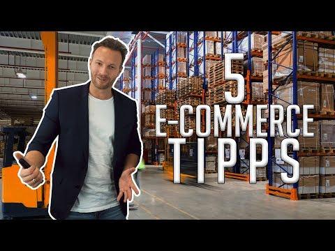 5 Heiße E-Commerce Tipps!