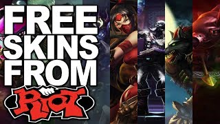 HOW TO GET FREE SKINS IN LOL (JULY 2017, NO DOWNLOAD) FREE TRISTANA, GAREN, AKALI AND ALISTAR SKINS