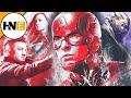 New Avengers Endgame Promo Art Reveals Captain Marvel, Thanos Armor and MORE