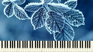 ♪ July: Cold winter (Piano Tutorial)
