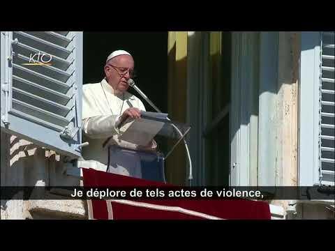 La prière du pape pour les victimes du terrorisme (Somalie, Afghanistan, NYC)
