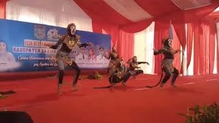 Lakun Si Abu SMPN 1 Martapura Sukses Menggelitik Penonton