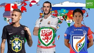 Best Footballer From EVERY Country on Earth