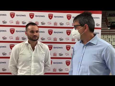 Adriano Vertemati, le prime parole da allenatore della Openjobmetis Varese