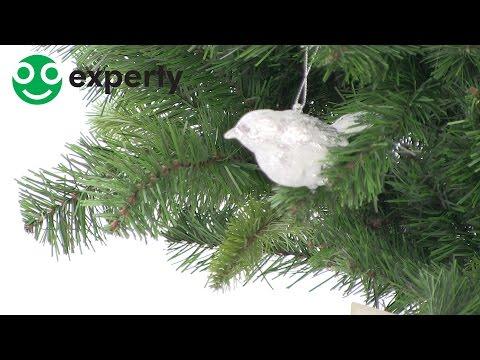 Snowy Bird kersthanger