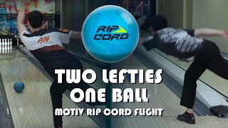 Motiv RipCord Flight Bowling Ball Review | Wesley Low and Kim Bolleby