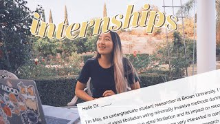 How I Got My Internship WITHOUT Networking