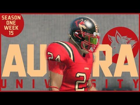 NCAA Football 14 | Aurora Dynasty - Week 15 vs. Arkansas State
