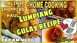PHIL ONLINE STORE SHOPPING HAUL/HOME COOKING/RECIPE/VLOG#