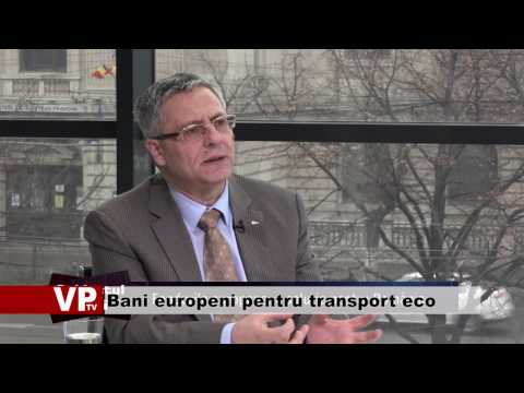 Bani europeni pentru transport eco