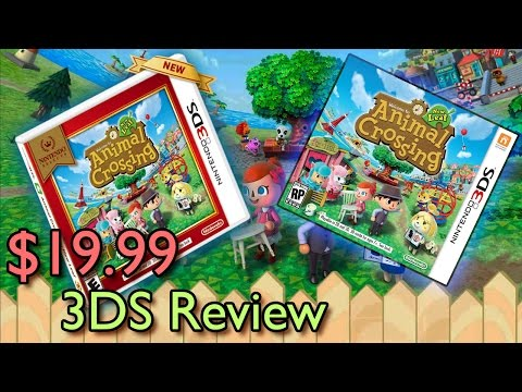 Animal Crossing: New Leaf - What the heck is it? [Nintendo 3DS Review]