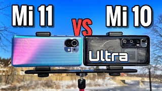 Xiaomi Mi 11 VS Xiaomi Mi 10 Ultra Camera Comparison!