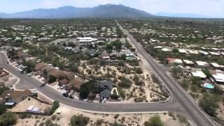 Phantom 3 Professional drone flight over Tucson AZ