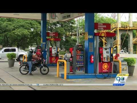 Conductores caleños inconformes por nueva alza en las estaciones de gasolina