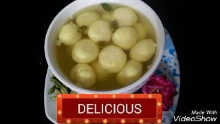 Patanjali Milk Powder Rasgulla / Bengali Rasgulla / Rasgulla Soft  And Spongy