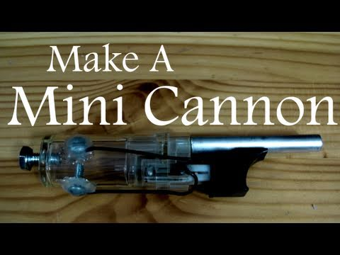 Mini Cannon Built From A Bbq Lighter Fires Airsoft Pellets Hackaday
