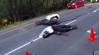 ДТП На окружной в Калининграде с мотоциклом 25.06.14