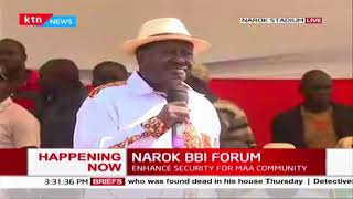 Raila: BBI is about economic revolution that will liberate our youth out of unemployment crisis