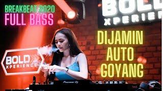 DIJAMIN AUTO GOYANG DJ BREAKBEAT 2020 FULL BASS LINGGAUBELUM...