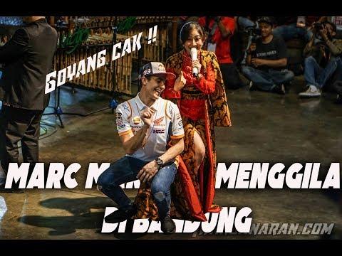 VLOG Marc Marquez MENGGILA di Bandung | GOYANG CAKKK !!