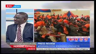 NASA's Disciplinary committee still has a hard task ahead, Political Analyst-Katana Kazungu
