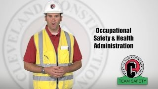 Construction Safety Training Video by Cleveland Construction, Inc.