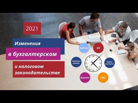 📢 Изменения в  бухгалтерском и налоговом законодательстве с 2021. 🔴🔴🔴Структурированный обзор.