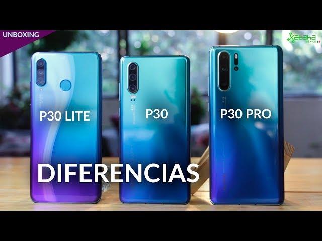 Huawei P30 Lite, UNBOXING: El hermano menor impone TRES CÁMARAS a la gama MEDIA