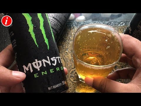Monster Energy Drink Review in Hindi - Monster energy drink ke fayde aur nuksan | Energy Drink Hindi