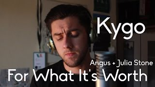 Kygo - For What Its Worth feat. Angus and Julia Stone (Cover by Aaron Fleming)