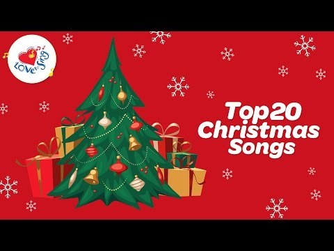 Top 20 Christmas Carols & Songs Playlist with Lyrics | Love to Sing