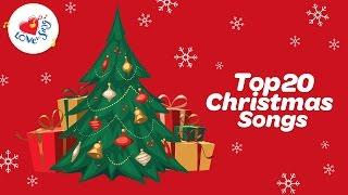 Top 20 Christmas Carols & Songs Playlist with Lyrics   Children Love to Sing