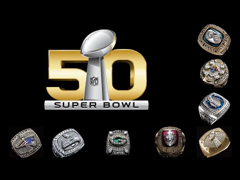 All Super Bowl rings 🏈