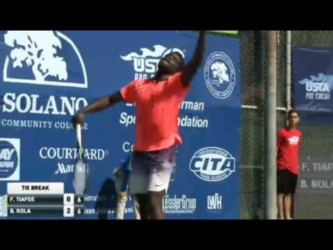 Francis Tiafoe vs Blaz Rola Highlights Fairfield 2016