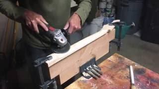 Carving A Guitar Neck