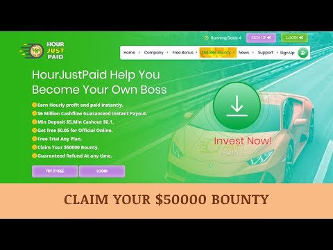 HourJustPaid LTD отзывы 2019, mmgp, обзор, Claim Your $50000 Bounty!
