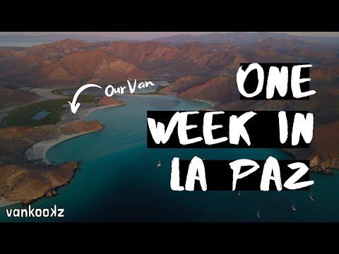 IS VANLIFE MEXICO SAFE? | One Week in La Paz, Baja | Food, Diesel, Showers, Van Upgrades & More!